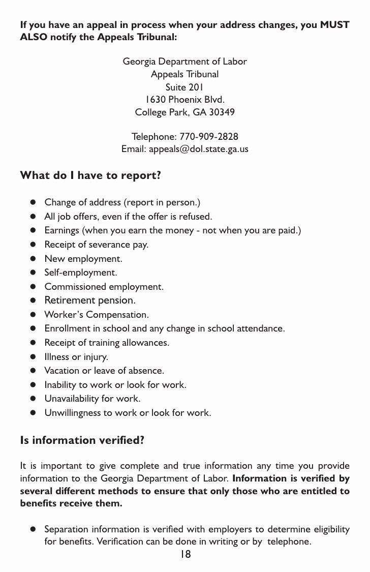 Unemployment Appeal Letter Sample  Proposal Sample For Proof Of Unemployment Letter Template