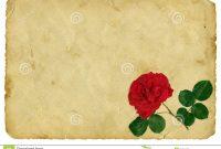 Vintage Love Letter Template  Theveliger regarding Template For Love Letter