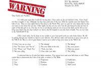 Warning Letter From Santa Naught List  Christmas  Santa Letter pertaining to Secret Santa Letter Template
