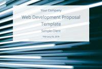 Web Development Proposal Template Free Sample  Bidsketch pertaining to Web Development Proposal Template