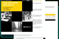 Web Support Retainer Proposal Template  Free Sample  Proposify regarding Web Design Proposal Template