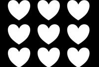 Free Printable Heart Templates