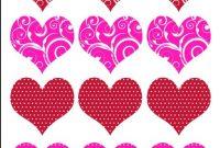 Printable Valentine Heart Template
