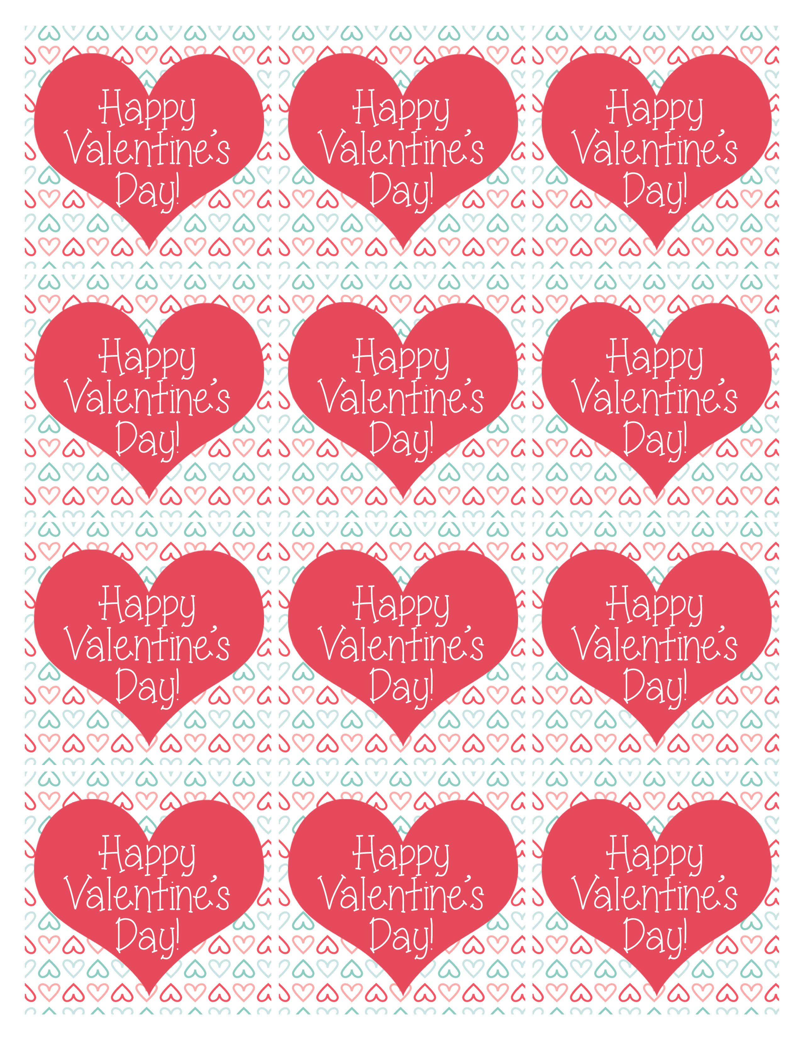 Homemade Kids Valentine Tic Tac Toe  How To Nest For Less™ Throughout Free Printable Valentine Templates