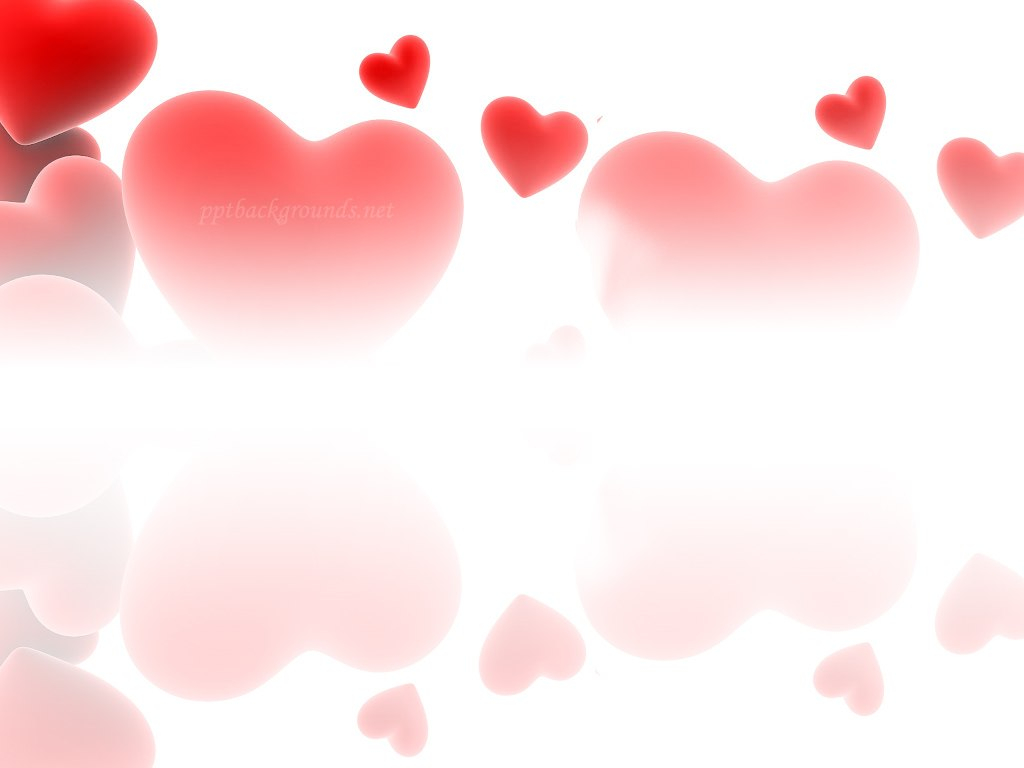 Red Love Hearts Backgrounds For Powerpoint  Love Ppt Templates Pertaining To Free Love Heart Ppt Template