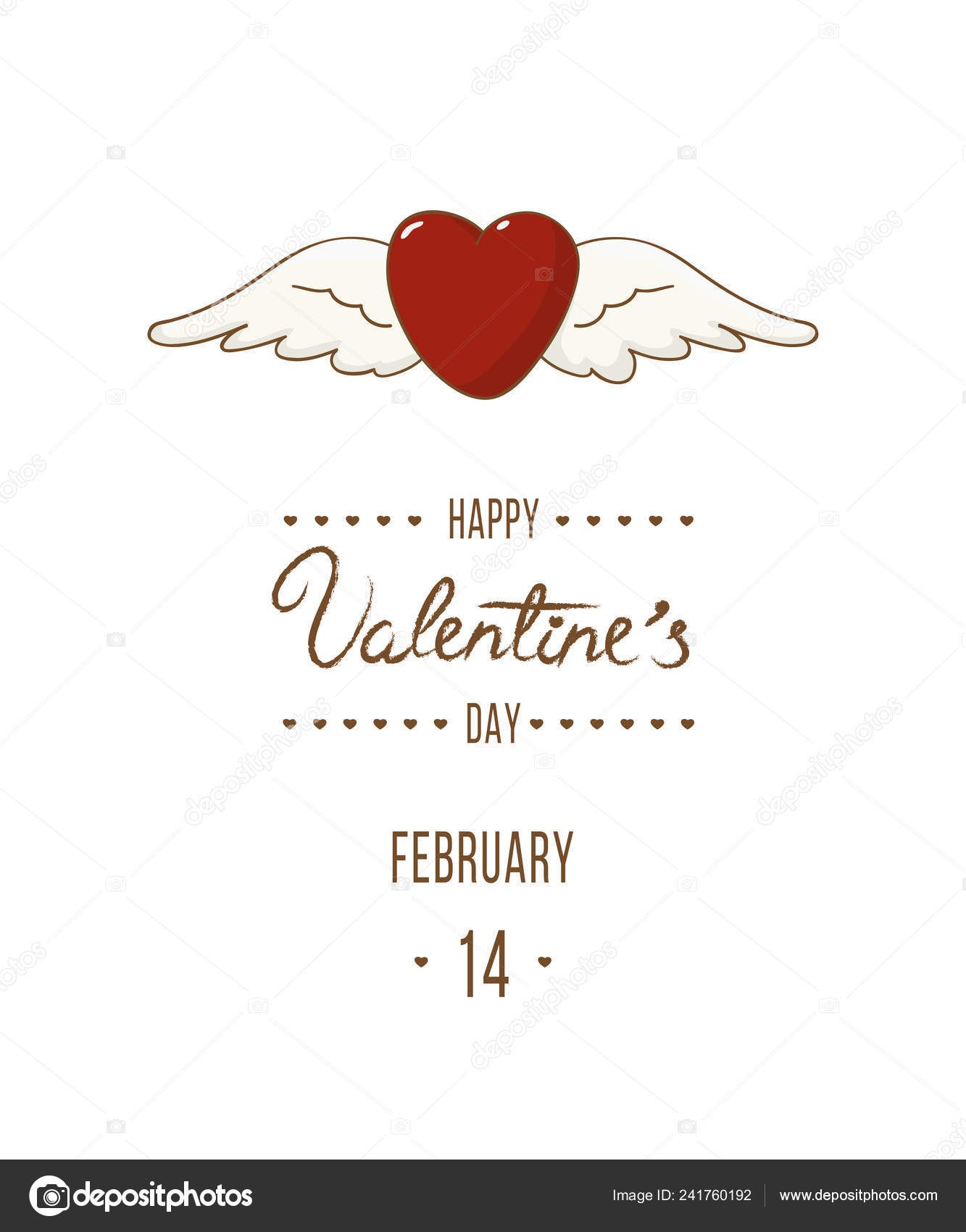 Valentine Day Greeting Card Postcard Party Invitation Regarding Valentine Party Invitation Template