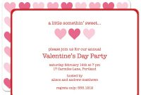 Valentine Party Invitation Templates In Valentine Party Invitation Template