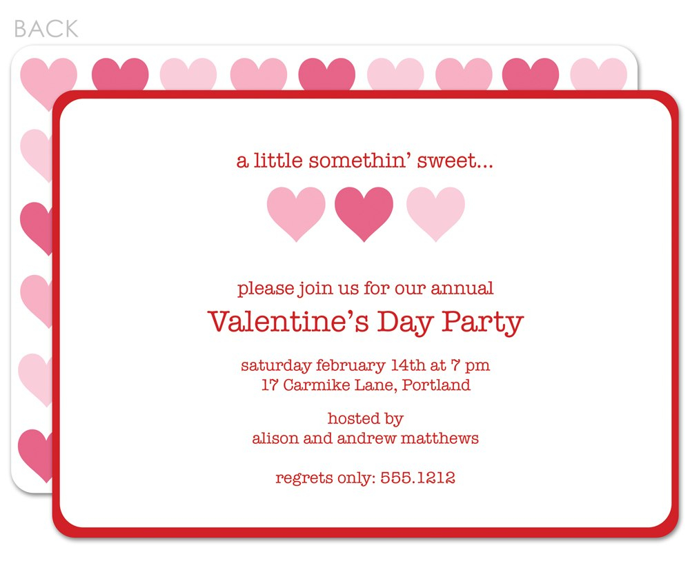 Valentine Party Invitation Templates In Valentine Party Invitation Template